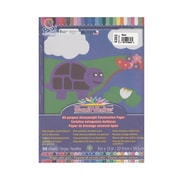 Pacon Sunworks Construction Paper Black 9 In. X 12 In. [Pack Of 5] (5PK-6303)