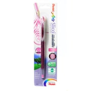 Pentel Slicci Extra Fine Metallic Gel Pens Metallic Pink Each [Pack Of 6] (6PK-BG208-MP)