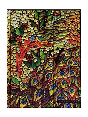 Peter Pauper Foldover Journals Stained Glass 6 1/4 In. X 8 1/4 In. 160 Pages [Pack Of 2] (2PK-9781441306609) 2137926