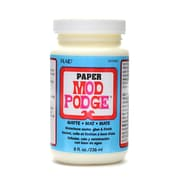 Plaid Mod Podge Medium Formulas Paper Matte 8 Oz. [Pack Of 2] (2PK-CS11236)