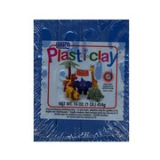 Plast-I-Clay Modeling Clay Blue [Pack Of 4] (4PK-91126E)