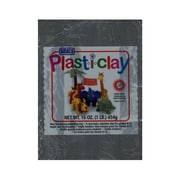 Plast-I-Clay Modeling Clay Gray [Pack Of 4] (4PK-91122B)