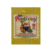 Plast-I-Clay Modeling Clay Yellow [Pack Of 4] (4PK-91125T)