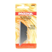Proedge Retractable Utility Knife Refill Blades Pack Of 6 [Pack Of 12] (12PK-40092)