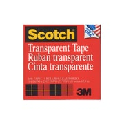 Scotch Transparent Tape 3/4 In. X 72 Yd. Refill Roll With 3 In. Core 600 [Pack Of 6] (6PK-6003472)
