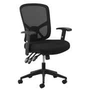 Essentials by OFM ESS-3050 Mesh Task Chair Adjustable Arms, Black