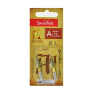 Speedball Lettering And Drawing Square Pen Nibs A Style A-4/A-5 Pack Of 2 [Pack Of 6] (6PK-31005)