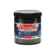 Speedball Opaque Fabric Screen Printing Inks Black Pearl 8 Oz. [Pack Of 2] (2PK-4800)