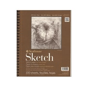 Strathmore Series 400 Sketch Pads 9 In. X 12 In. 100 Sheets [Pack Of 2] (2PK-455-3-1)