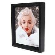 "Marilyn Monroe White Coat 8""x10"" 3D Lenticular Shadowbox (EPPLA78075F)"