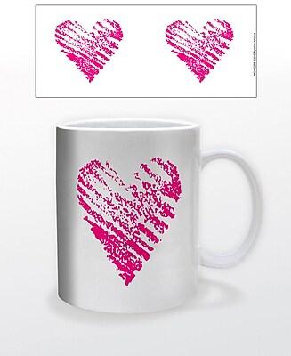 """""""""""""""""""""""""""Pink Heart"""""""""""""""" 11 oz. Mug (MGA82256)"""""""""""" 2237017"""