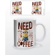"Minions ""Need Coffee"" 11 oz. Mug (MGA82268)"