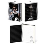 """Audrey Hepburn """"Window"""" A5 Spiro Notebook (SRA81505) (SRA81505)"""