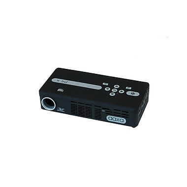 AAXA P4-X LED Pico Projector with 90 Min Battery Life, 125 Lumens, Pocket Size, Media Player, mini-HDMI (KP500-02)
