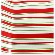 JAM Paper® Christmas Wrapping Paper, Holiday Candy Cane Stripes Design, 20 Sq Ft, Sold Individually (165530714)