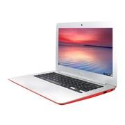 "ASUS® C300SA-DS02 13.3"" Chromebook, LCD, Intel Celeron N3060, 16GB eMMC, 4GB RAM, Google Chrome, Red"