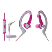 Audio Technica® ATH-SPORT1ISPK SonicSport® Wired In-Ear Headphone, Pink