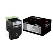 Lexmark Unison 800H1 Toner Cartridge, Laser, High Yield, OEM, Black, (80C0H10)