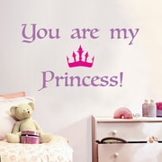 WallPops! Home Decor Line Princess Quote Wall Decal
