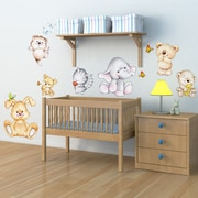 WallPops! Home Decor Line Cute Animals Wall Decal