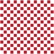 WallPops! Home Decor Line 7.9'' x 7.9'' Ceramic Peel & Stick Mosaic Tile in Red & White