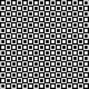 WallPops! Home Decor Line 9.1'' x 9.1'' Peel & Stick Tile in Black and White