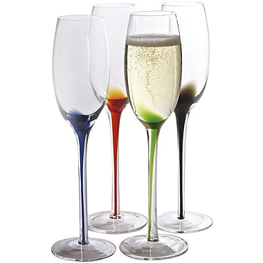 Artland Splash Champagne Flute (Set of 4)