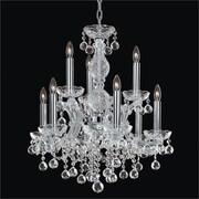 Glow Lighting Maria Theresa 9 Light Crystal Chandelier