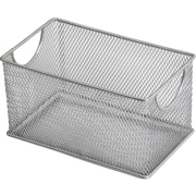 YBM Home Mesh Zip Storage Box