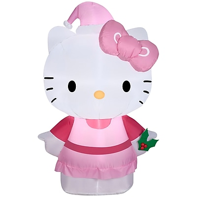 Gemmy Industries Airblown Inflatables Hello Kitty