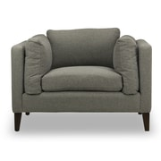 Spectra Home Kent Arm Chair; Marin Silver