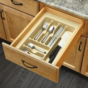 Rev-A-Shelf Medium Cutlery Organizer; Almond