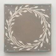 Glory Haus 'Laurel Wreath Monogram' Painting Print on Canvas