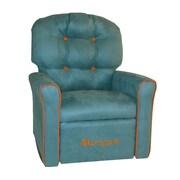 Dozy Dotes Kids Chair; Suede - Tide Pool Blue