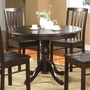 Wooden Importers Hartland Dining Table; Cappuccino