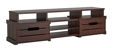 Hokku Designs Bohan TV Stand; Vintage Walnut