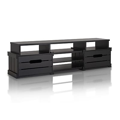 Hokku Designs Bohan TV Stand; Black