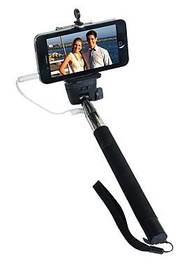 Zuma Selfie Stick Cable Release Black Selfie Stick (Z-110B)