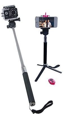 Zuma Selfie Stick GoPro, Digital Cameras Smartphone Holder Selfie Stick (Z-128)