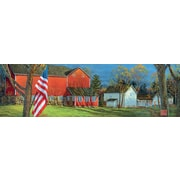LANG American Farm 750 Piece Panoramic Puzzle (5041010)