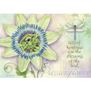 LANG Passion Flower Petite Note Cards (2080044)