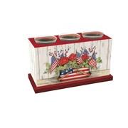 LANG Flag Basket Votive Box (3131001)