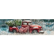 LANG Flag Truck 750 Piece Panoramic Puzzle (5041013)