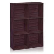 Way Basics Eco Tribeca Bookcase and Storage Shelf, Espresso