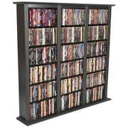 Venture Horizon VHZ Entertainment Regular Triple Multimedia Storage Rack; Black