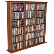 Venture Horizon VHZ Entertainment Regular Triple Multimedia Storage Rack; Cherry
