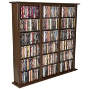 Venture Horizon VHZ Entertainment Regular Triple Multimedia Storage Rack; Dark Walnut
