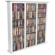 Venture Horizon VHZ Entertainment Regular Triple Multimedia Storage Rack; White