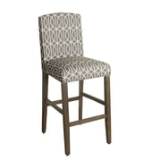 HomePop Finley 29'' Bar Stool with Cushion