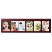 AdecoTrading 6 Opening Decorative Wall Hanging Divided Picture Frame